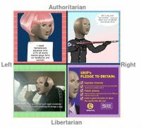 aesthetics: Authoritarian  let's see how  aesthetic you are  when you're DEAD  you ironic fuck  i need  femimnism  because only  17% of ironic  meme page fans  on facebook are  Women  Right  Left  UKIP's  PLEDGE TO BRITAIN:  EM legalise memes  you can have as mnany memes as you want dude  dont have a problem with it  M Fuck anime  national anthem replaced by sick 2-hour DNB mix  with the queen as MC  build a giant thruster to steer  the earth into the sun  meme man gav  up ol and nightclubbing  BELIEVE  home smoking 65 bongs a day.  BRITAIN  ukip.org  Libertarian