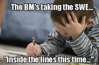 "Thanks Jesse!: The BM staking the SWE...  Inside the linesthistime."" Thanks Jesse!"