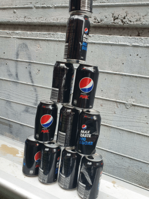 at school my friend bought 20 pepsis, and not all of them are in the pic: 375m  MAY  TAS  NO  SUG  375  MX TASTE NO  SUGAR  pepsi  MAX  375  MAX TASTE No SUGA  RA  AX TASTE NO SUGAR  MAX  TASTE  NO  SUGAR  pepsi  35  375 m at school my friend bought 20 pepsis, and not all of them are in the pic