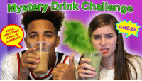 Dank, Watch, and Youtu: 37DdinikChallengo  WELL,  AIN'T THAT  A PIG IN  IN  A BARREL  GROSS This week, Justin & CeCe did the #MysteryDrinkChallenge! Watch HERE: https://youtu.be/u0xFjldO2do