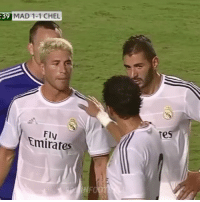 Tb to Real Madrid 3-1 Chelsea 🔥😍 Which goal was the best? Ramos with blonde hair 😅: :39 MAD 1-1 CHEL  es  Fly  Emirates Tb to Real Madrid 3-1 Chelsea 🔥😍 Which goal was the best? Ramos with blonde hair 😅