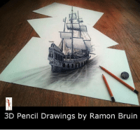 Memes, Drawings, and 🤖: 3D Pencil Drawings by Ramon Bruin