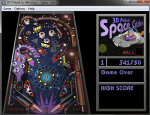 Anybody remember this?: 3D Pinball for Windows Space Cadet  Game Options Help  3D Pinbali  : BALL  42750  Gome Ower  HIGH SCone  MA TRONICS Anybody remember this?