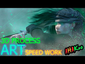 Tumblr, Work, and Blog: 3D PROCESs  ART  SPEED WORK AHA  uo novelty-gift-ideas:  Amazing Photo Manipulation Magic Speed Process [Time Lapse] (Speed Art)