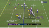 Memes, Rams, and Vikings: 3RD &10'  3O  2 0  VIKINGS 111 20 RAMS  3-0 31 3rd 5:08  3rd & 10 .@StefonDiggs' concentration level 💯💯💯 #SKOL  📺: @nflnetwork + @NFLonFOX 📱+💻: https://t.co/DJUityQHC9 https://t.co/qU8eqi4zBw