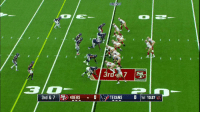 San Francisco 49ers, Memes, and Texans: 3rdS  3rd & 7 ) 49ERS - 01  . OIS,  TEXANS  0 1st 13:37 07 .@JimmyG_10 going DEEP!  That's a gain of 40 yards to @flashg88dwin. #SFvsHOU https://t.co/yWFdBtE0XH