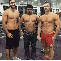 Me at the gym looking super swole with my bros.: 4  0 Me at the gym looking super swole with my bros.