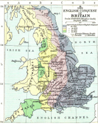 """<p><a href=""""http://land-of-maps.tumblr.com/post/148779401815/map-of-the-anglo-saxon-conquest-of-britain-and-the"""" class=""""tumblr_blog"""">land-of-maps</a>:</p>  <blockquote><p>Map of the Anglo-Saxon Conquest of Britain and the Anglo-Saxon Kingdoms [1123 x 1400]<br/><a href=""""http://landofmaps.com/"""">CLICK HERE FOR MORE MAPS!</a></p></blockquote>: 4  0  THE  ENGLISH CONQUEST  HoTyI.  BRITAIN  Scale I: 6.000,000 (100miles-linch)  English Miles  50  200  Approximate ErtentofEnglish Conquest  enta  n 550  """" in 600  """" in 650  """" in 80o  a.  principal Boman Roads  si'. Eorests Marshes  N O R T H  ELMET  S E A  Merse  Anglese  Chesten  iM  BSAE  52  SOU欠  olehester  orta  on  sfleet  DORSAE  Wight  ENGLİSH CHANNEL  50 <p><a href=""""http://land-of-maps.tumblr.com/post/148779401815/map-of-the-anglo-saxon-conquest-of-britain-and-the"""" class=""""tumblr_blog"""">land-of-maps</a>:</p>  <blockquote><p>Map of the Anglo-Saxon Conquest of Britain and the Anglo-Saxon Kingdoms [1123 x 1400]<br/><a href=""""http://landofmaps.com/"""">CLICK HERE FOR MORE MAPS!</a></p></blockquote>"""