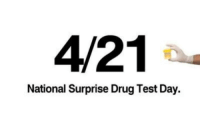 4/21  National Surprise Drug Test Day. My favorite day of the year !!!!