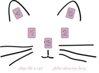 "Dancing, Love, and Too Much: 4  5  2  3  leep like a cat the-dancing-fairy <p><a href=""http://the-dancing-fairy.tumblr.com/post/172907525098/sleep-like-a-cat-spread-what-is-waking-me-up-or"" class=""tumblr_blog"">the-dancing-fairy</a>:</p>  <blockquote><h2>Sleep Like A Cat Spread</h2><ol><li>What is waking me up or keeping me awake? <br/></li><li>Why is it doing so? </li><li>How can I alleviate the stress I'm feeling from #1? What can I do to disrupt this pattern of uneasy sleep? </li><li>What can I do to improve the quality of the sleep I'm getting? </li><li>What can I do to be sure I'm getting the right amount of sleep – not too much or too little? </li></ol><p>Spread number 2! For those of you (like me) who are finding it hard to maintain a healthy sleeping pattern. I haven't worked with this one as much as the first spread I put out, but I am still finding it useful. Would love to hear feedback on these!</p></blockquote>"