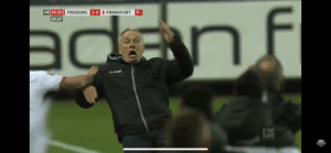 When I fully know the consequences of my actions but still act surprised when it happens: +4 90:00  1-0 I FRANKFURT  FREIBURG  05:27  Fmnel  Fox  SOCCER When I fully know the consequences of my actions but still act surprised when it happens