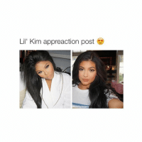 if you don't get it, lil kim is the singer but people call kylie lil kim because she looks like alot kim k: Lil' Kim appreaction post  @bitchy, tweets if you don't get it, lil kim is the singer but people call kylie lil kim because she looks like alot kim k