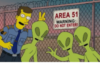 Area 51, Enter, and  Warning: 4 AREA 51  WARNING:  DO NOT ENTER!