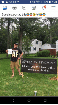 Officially Divorced