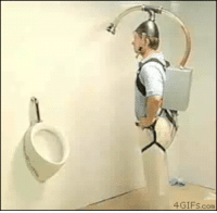 Install urinal to do this at my home: 4 GIFs com Install urinal to do this at my home