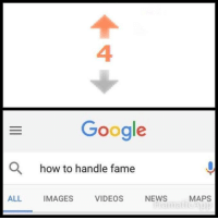 "Google, Memes, and News: 4  Google  O  how to handle fame  ALL  IMAGES  VIDEOS  NEWS  MAPS <p>I'm famous boys via /r/memes <a href=""http://ift.tt/2xTkiDS"">http://ift.tt/2xTkiDS</a></p>"