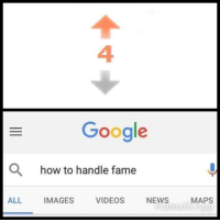 "Google, Memes, and News: 4  Google  O  how to handle fame  ALL  IMAGES  VIDEOS  NEWS  MAPS <p>Fame via /r/memes <a href=""http://ift.tt/2mxej24"">http://ift.tt/2mxej24</a></p>"
