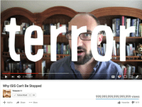 """<p>Vsause = ISIS via /r/dank_meme <a href=""""http://ift.tt/2bJJvp6"""">http://ift.tt/2bJJvp6</a></p>: -4)  HD  2: 1 8 / 851  Why ISIS Can't Be Stopped  Vsauce  Subscribed 69  999,999,999,999,999,999 views  Add to  Harambeタ1 9/11  Share More <p>Vsause = ISIS via /r/dank_meme <a href=""""http://ift.tt/2bJJvp6"""">http://ift.tt/2bJJvp6</a></p>"""
