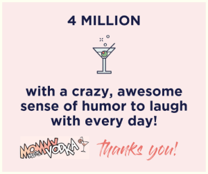 Wow....4 million people aboard the MNV crazy train! I appreciate every single one of you laughing and chatting with me every day. Thank you!: 4 MILLION  with a crazy, awesome  sense of humor to laugh  with every day!  MaNNchY aka you! Wow....4 million people aboard the MNV crazy train! I appreciate every single one of you laughing and chatting with me every day. Thank you!