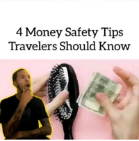 9gag, Memes, and Money: 4 Money Safety Tips  Travelers Should Know This looks like smuggling things in prison more than traveling hack 👮🏻 Follow @9gag - 📷@keycomedy - - 9gag lifehacks
