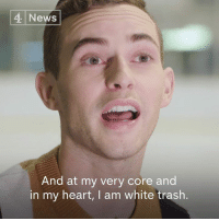 """Memes, News, and Sports: 4 News  And at my very core and  in my heart, I am white trash """"I am not elite. I am white trash.""""  Olympic figure skate Adam Rippon says celebrities and sports stars need to speak out against the Trump administration and encourage Americans to vote in the midterms."""