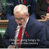 "Hungry, Memes, and Democracy: 4 News  Children going hungry to  school in this country ""Children are going hungry to school...because their parents can't afford to feed them properly"" - Jeremy Corbyn to Theresa May.  Via Channel 4 News Democracy."