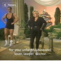 """Lawyer, Marriage, and Memes: 4 News  for your unfaithful husband,  lover, lawyer, doctor. """"I am a marvellous housekeeper. Every time I leave a man, I keep his house.""""  Zsa Zsa Gabor, known as much for her movie career as her marriages, has died at the age of 99."""