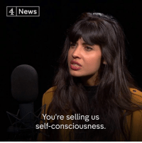 "Kardashians, Memes, and News: 4 News  You're selling us  self-consciousneSS ""You're selling us self-consciousness.""  Jameela Jamil explains why she thinks the Kardashians are ""double agents for the patriarchy"", in the latest Ways to Change the World podcast."