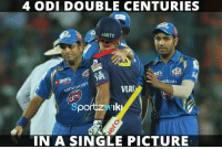 4 ODI 200s in a single picture ! - Sachin Tendulkar, Virender Sehwag and Rohit Sharma: 4 ODI DOUBLE CENTURIES  AMITY  Econ  con  VIR  IN A SINGLE PICTURE 4 ODI 200s in a single picture ! - Sachin Tendulkar, Virender Sehwag and Rohit Sharma