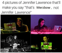 "J-Law is such a cutie: 4 pictures of Jennifer Lawrence that'll  make you say ""that's Merzbow  not  Jennifer Lawrence""  MEAT  IS  MURDE  EAT IS  MURDER  ALLEN&HEATH ZED J-Law is such a cutie"