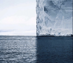 4 shades of blue in Antarctica: 4 shades of blue in Antarctica