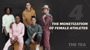 Endorsements and sponsorships for athletes are critical to overall visibility and livelihood. But for women, the stakes are different.   Hear more from @alikrieger, @Ashlyn_Harris, @breannastewart, @dharp100mh, and @Nnemkadi30 on #TheTea.   Episode 4: https://t.co/OulerVk18r https://t.co/CPuS6uzR2g: 4.  THE MONETIZATION  OF FEMALE ATHLETES  THE TEA  HOSTED BY THE PLAYERS' TRIBUNE Endorsements and sponsorships for athletes are critical to overall visibility and livelihood. But for women, the stakes are different.   Hear more from @alikrieger, @Ashlyn_Harris, @breannastewart, @dharp100mh, and @Nnemkadi30 on #TheTea.   Episode 4: https://t.co/OulerVk18r https://t.co/CPuS6uzR2g