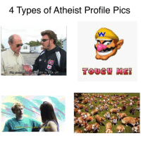 Anaconda, Fuck, and Atheist: 4 Types of Atheist Profile Pics  Tom  'm gonna pay you $100 to fuck oft.  die https://t.co/daxEWPDrCB