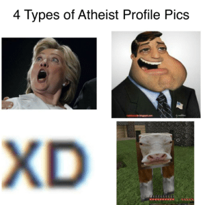 Atheist, Pics, and Types Of: 4 Types of Atheist Profile Pics  XD https://t.co/sHA0KceO7J