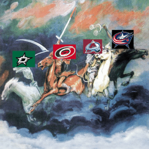 National Hockey League (NHL), Apocalypse, and The: 4 Wildcards of the Apocalypse