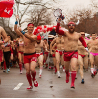 """Ok basic bros and betches, we need to talk about the most fun you'll ever have while still wearing underwear. 😏 @CupidsUndieRun is a mile(ish) fun run in your bedroom best on ValentinesBae weekend to support The Children's Tumor Foundation. Ridiculously fun preparty ➡️ run-stumble ➡️ post-party, all to support an amazing cause. ❤️💕 It takes place in 36 freaking cities (even you, Detroit and Milwaukee!), so check the city list because your HomeSweetHome is probably on it! Get a team together or run by yourself, but check this: You'll get 50% OFF registration with code """"BasicCupid""""! We cannot express how fun this event is, and trust us - no athletic skills required (all DAD BODS welcome!). You can register via the link in our bio or just go to cupidsundierun.com, but don't forget """"BasicCupid"""" for that baller discount. 👊🏼 ImWithCupid PantyParty UnderwearMoreLikeFunderwear GotACaseOfTheRuns🙊 DoItForTheKids CupidsUndieRun BrosBeingBasic TagYourSquadForTheCause: 4  wm  ec  COPIC Ok basic bros and betches, we need to talk about the most fun you'll ever have while still wearing underwear. 😏 @CupidsUndieRun is a mile(ish) fun run in your bedroom best on ValentinesBae weekend to support The Children's Tumor Foundation. Ridiculously fun preparty ➡️ run-stumble ➡️ post-party, all to support an amazing cause. ❤️💕 It takes place in 36 freaking cities (even you, Detroit and Milwaukee!), so check the city list because your HomeSweetHome is probably on it! Get a team together or run by yourself, but check this: You'll get 50% OFF registration with code """"BasicCupid""""! We cannot express how fun this event is, and trust us - no athletic skills required (all DAD BODS welcome!). You can register via the link in our bio or just go to cupidsundierun.com, but don't forget """"BasicCupid"""" for that baller discount. 👊🏼 ImWithCupid PantyParty UnderwearMoreLikeFunderwear GotACaseOfTheRuns🙊 DoItForTheKids CupidsUndieRun BrosBeingBasic TagYourSquadForTheCause"""