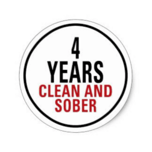 Today is My Sober Birthday 🎂 https://t.co/5cMoi4qkSQ: 4  YEARS  CLEAN AND  SOBER Today is My Sober Birthday 🎂 https://t.co/5cMoi4qkSQ