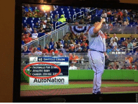 Mlb, Bartolo Colon, and For: 40 BARTOLO COLON  ORT  FASTBALLS FOR STRIN.  ATHLETIC BODY  CAREER: 233-162, 392 RA  AutoNation  @MLBMEME That scouting report! 😂😂😂