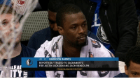 Harrison Barnes really just got traded mid-game.: 40 F HARRISON BARNES  REPORTEDLY TRADED TO SACRAMENTO  FOR JUSTIN JACKSON AND ZACH RANDOLPH  FROM BLEACHER REPORT Harrison Barnes really just got traded mid-game.