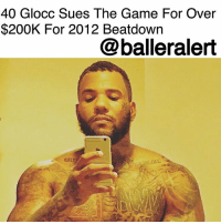 40 Glocc Sues The Game For Over $200K For 2012 Beatdown - blogged by @MsJennyb ⠀⠀⠀⠀⠀⠀⠀ ⠀⠀⠀⠀⠀⠀⠀ TheGame has just been hit with a lawsuit over money he refused to dish out after losing a previous suit. According to TMZ, the rapper was sued back in 2016 for beating up 40 Glocc, but he has yet to pay up and 40 wants his money. ⠀⠀⠀⠀⠀⠀⠀ ⠀⠀⠀⠀⠀⠀⠀ According to the publication, 40 initially sued Game for the fight that left him bleeding in the street in 2012. The lawsuit resulted in a win for 40, demanding The Game cough up $196,335.15. ⠀⠀⠀⠀⠀⠀⠀ ⠀⠀⠀⠀⠀⠀⠀ However, since the rapper has yet to pay for the 2016 suit, 40 is back to collect with interest. Now, The Game reportedly owes $216,775.52 and 40 is demanding that judge make him pay up.: 40 Glocc Sues The Game For Over  $200K For 2012 Beatdown  @balleralert 40 Glocc Sues The Game For Over $200K For 2012 Beatdown - blogged by @MsJennyb ⠀⠀⠀⠀⠀⠀⠀ ⠀⠀⠀⠀⠀⠀⠀ TheGame has just been hit with a lawsuit over money he refused to dish out after losing a previous suit. According to TMZ, the rapper was sued back in 2016 for beating up 40 Glocc, but he has yet to pay up and 40 wants his money. ⠀⠀⠀⠀⠀⠀⠀ ⠀⠀⠀⠀⠀⠀⠀ According to the publication, 40 initially sued Game for the fight that left him bleeding in the street in 2012. The lawsuit resulted in a win for 40, demanding The Game cough up $196,335.15. ⠀⠀⠀⠀⠀⠀⠀ ⠀⠀⠀⠀⠀⠀⠀ However, since the rapper has yet to pay for the 2016 suit, 40 is back to collect with interest. Now, The Game reportedly owes $216,775.52 and 40 is demanding that judge make him pay up.