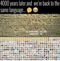 Have we gone full circle or full retard 😂 . . - - 🚨FOLLOW: @whypree_tho_vip & @whypree_tv ⚠️ for more 🆘🔥‼️: 4000 years later and we're back to the  same language  !!1583  HO  HYPREE-TV.  9 명 ㈡ e) e) el@e) 9巴e(g) g) 99@e) e) e) e) @) e) ue.W山yeb) ( )  IG09昌岺40盂基奋496%RO&#V8WF4,貽等*AOSh  a CE) ò O G帶昌。▲ Δ  >@se O Q:贸1gGogeEyD  800 D @o@m-BS:墓3)画@  10009608479  la g  DCE><盏Φ晋愈peg咽盘  SU  ⑨(③ O緜ヴ보 ja-In Ⅲ α  D@s-s-I么09 Ca @ DiSEIl  en  03>se+3Q門 ... 80  00 e  00 m  00 a  4S Have we gone full circle or full retard 😂 . . - - 🚨FOLLOW: @whypree_tho_vip & @whypree_tv ⚠️ for more 🆘🔥‼️