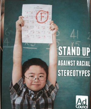 Irl, Stand Up, and Stand: 41  4  STAND UP  AGAINST RACIAL  STEREOTYPES  Ad  Council Me 🚸 IRL