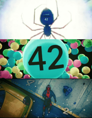 shittymoviedetails:  In Spider-Man: Into The Spider-Verse (2018) The number '42' appears several times throughout the movie. If you take 42 and half it, then add that to 42 it makes 63. 4 add 2 makes 6. 63 add 6 makes 69. Nice.: 42  42  20 shittymoviedetails:  In Spider-Man: Into The Spider-Verse (2018) The number '42' appears several times throughout the movie. If you take 42 and half it, then add that to 42 it makes 63. 4 add 2 makes 6. 63 add 6 makes 69. Nice.