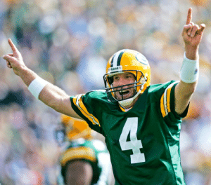 HAPPY 50TH BIRTHDAY to the legendary @BrettFavre: 4⃣ 71,838 career passing yards 4⃣ Back-to-back-to-back Most Valuable Player (1995-97) 4⃣ League record 297 consecutive starts  4⃣ @ProFootballHOF Class of 2016 https://t.co/Y628VPKMOi: 42 HAPPY 50TH BIRTHDAY to the legendary @BrettFavre: 4⃣ 71,838 career passing yards 4⃣ Back-to-back-to-back Most Valuable Player (1995-97) 4⃣ League record 297 consecutive starts  4⃣ @ProFootballHOF Class of 2016 https://t.co/Y628VPKMOi