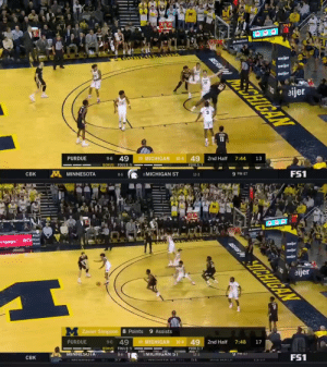 👀 @twill___ with the the creative touch around the rim to secure the bucket for @BoilerBall 💪 https://t.co/ioJIUP7ymN: 43  13  &StateFurm  meijer  BELFOR  meijer  meijer  CHIGAN  1S  eijer  11  13  7:44  10-4 49  2nd Half  19 MICHIGAN  49  9-6  PURDUE  FOULS: 7  BONUS FOULS: 5  FS1  9 PM ET  12-3  8 MICHIGAN ST  A MINNESOTA  8-6  CBK   W.  BELROR  eijer  SICHIGAN  rtgage. R  9 Assists  M Zavier Simpson 8 Points  17  7:48  2nd Half  10 4 49  19 MICHIGAN  9-6 49  PURDUE  FOULS: 7  BONUS FOULS: 5  8-6  FS1  9 PM EI  12-3  8 MICHIGAN ST  1.3:17  MINNESUTA  2nd HALE  2 WICHTA ST I -  37  CBK  RI MEMPHIS 👀 @twill___ with the the creative touch around the rim to secure the bucket for @BoilerBall 💪 https://t.co/ioJIUP7ymN