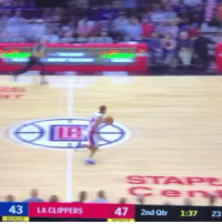 Sports, Break, and Clippers: 43 LA CLIPPERS  47 2nd Qtr 1:37 23 Avery Bradley managed to go 0-2 from the field on a fast break by himself  (Video via @World_Wide_Wob) #Pistons https://t.co/8INU97Ewfc