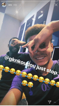 Chill, Got, and One: 43m  @gknkoudou just stop We just got the first one down Dele. You gotta chill