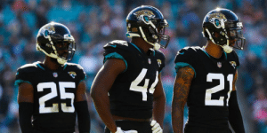 "Memes, Best, and The League: 44  21  25 ""We're going to be the best defense in the league.""  The @Jaguars' defense is coming for the No. 1 spot: https://t.co/6DSjVkDx6n https://t.co/yjHPARVTnC"