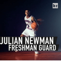 Newman, Sports, and Powerade: 444  JULIAN NEWMAN  FRESHMAN GUARD  r  b Starting on varsity as a fifth grader? Julian Newman is just getting started. (➡️ @Powerade)