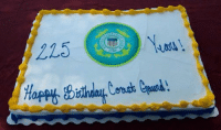 """You had ONE job... apparently spelling """"Coast GUARD"""" wasn't one of them.  P.S. the USCG's birthday is 28 January. It's the US Revenue Cutter Service's birthday we're celebrating on 04 August... awkward. Credit, Nick: 215  1790 You had ONE job... apparently spelling """"Coast GUARD"""" wasn't one of them.  P.S. the USCG's birthday is 28 January. It's the US Revenue Cutter Service's birthday we're celebrating on 04 August... awkward. Credit, Nick"""